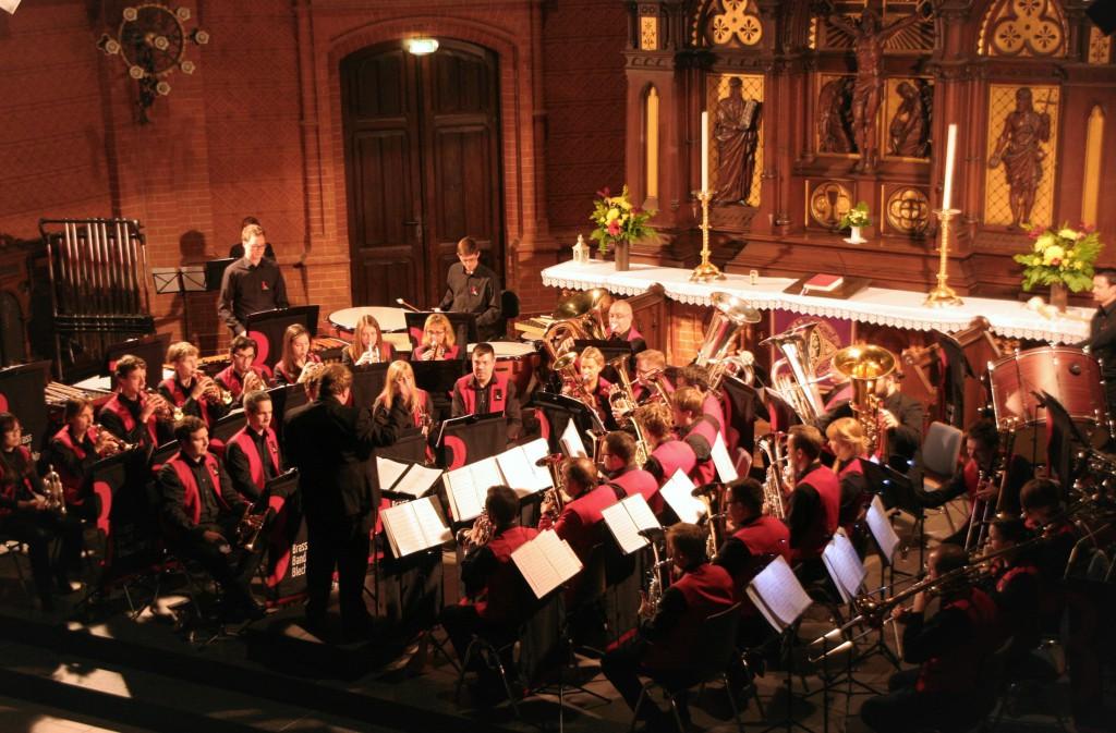 Brass Band BlechKLANG beim Kirchenkonzert