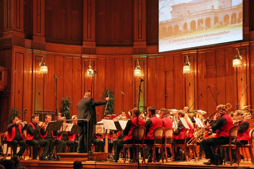 Die Brass Band BlechKLANG bei der Deutschen Brass Band Meisterschaft