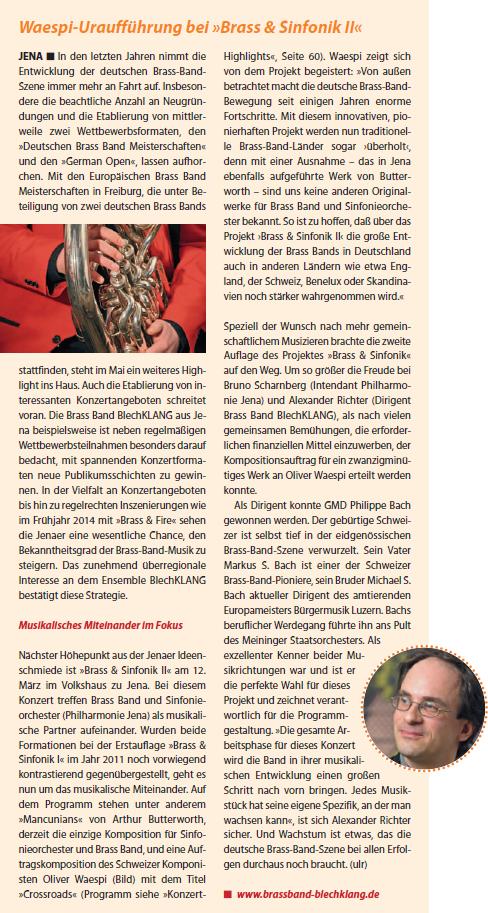 Artikel zu Brass und Sinfonik 2 Eurowinds