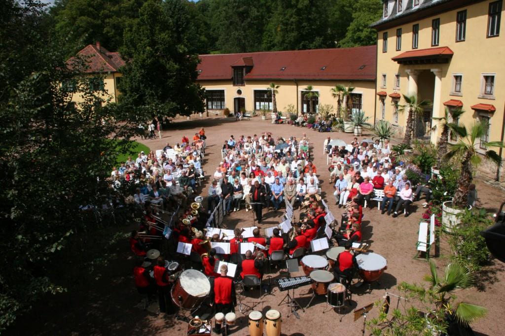 Brass Band BlechKLANG Kurpark Schloss Altenstein