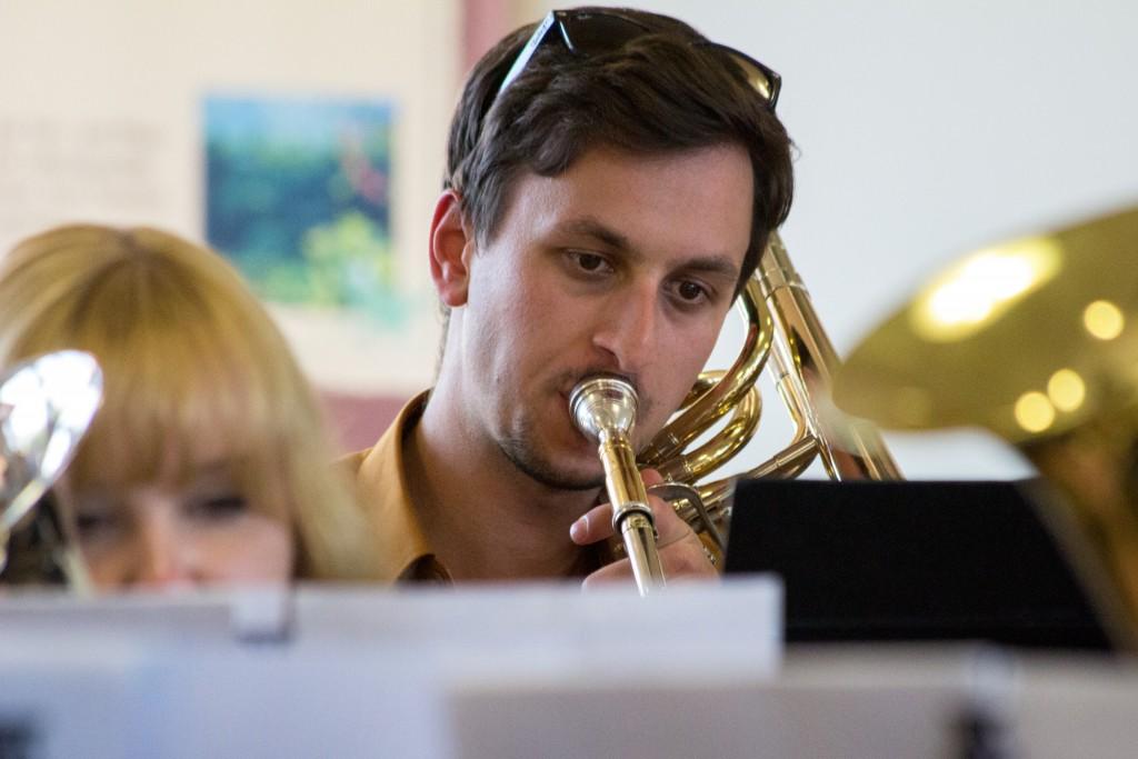 Brass Band BlechKLANG bei der Deutschen Brass Band Meisterschaft 2016