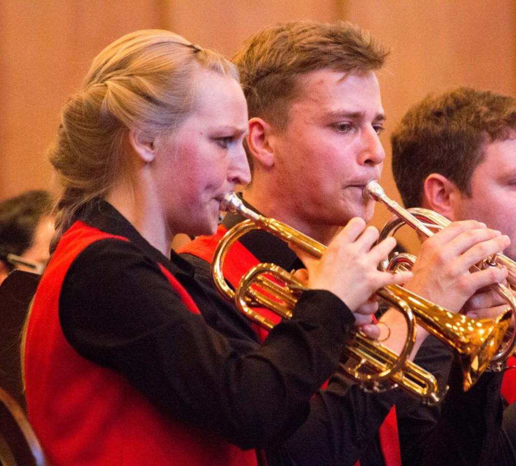 Ulrike bei der Deutschen Brass Band Meisterschaft 2016