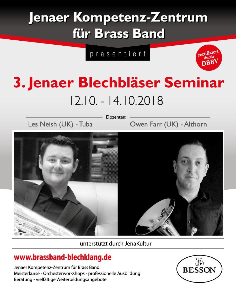 Jenaer Blechbläser Seminar mit Les Neish und Owen Farr