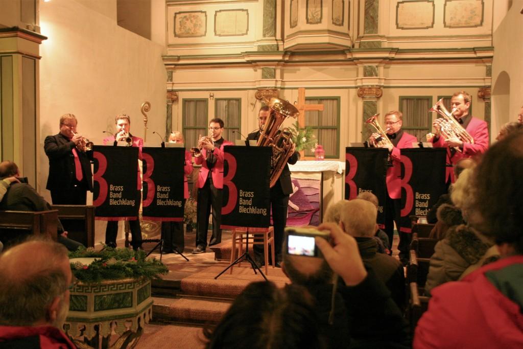 Blech trifft Orgel