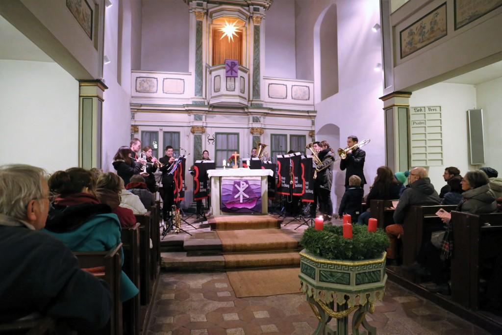 Brass Band BlechKLANG Blech trifft Orgel Winzerla