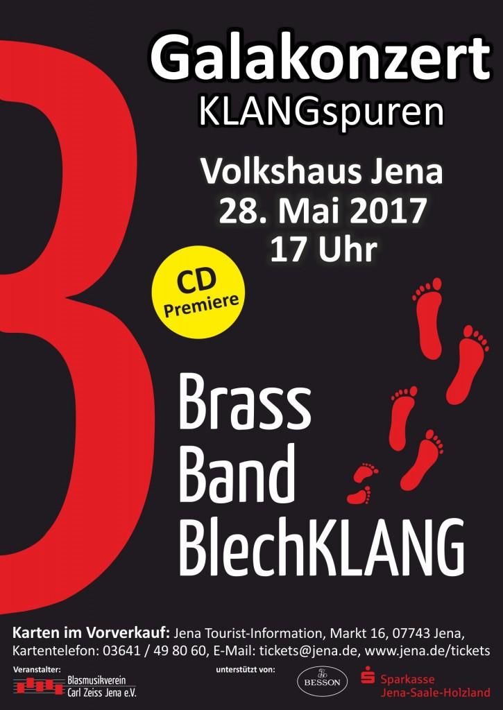Jena Galakonzert KLANGspuren Brass Band BlechKLANG