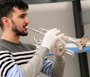 Neues Kornett für Mark Sirok Brass Band BlechKLANG