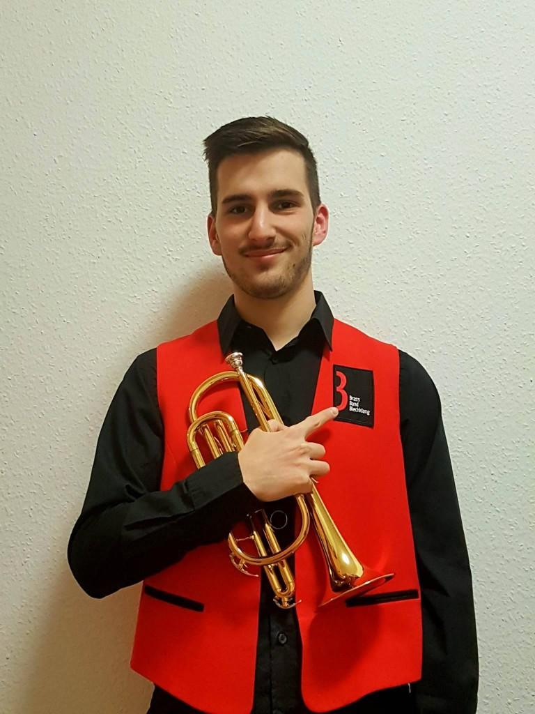 Mark Sirok neuer Principal Cornet der Brass Band BlechKLANG