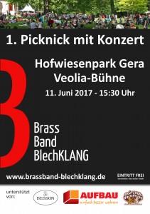 170611 Gera Picknickkonzert Brass Band BlechKLANG