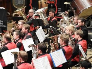 Brass Band BlechKLANG beim Galakonzert KLANGspuren 2017