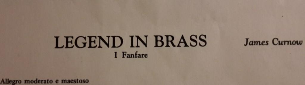 Brass Band BlechKLANG präsentiert KLANGspuren - Legend in Brass