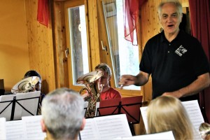 Brass Band BlechKLANG mit James Gourlay