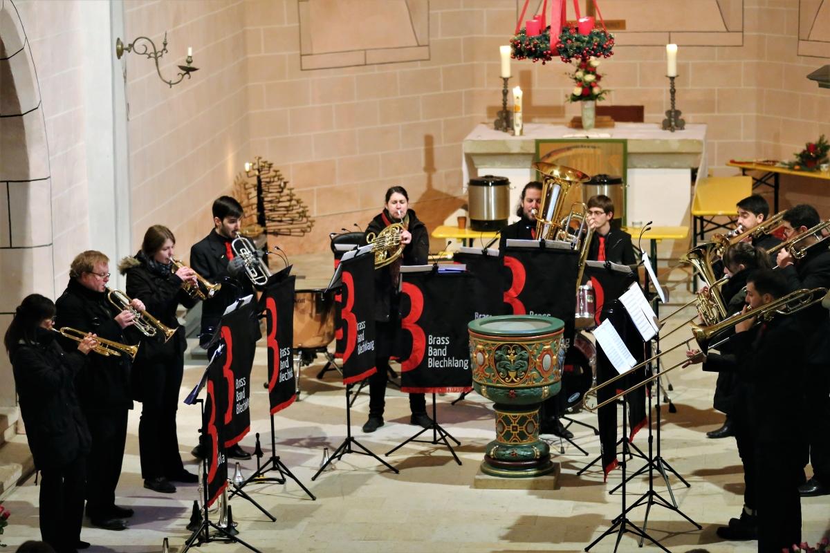 Brass Band BlechKLANG: Blech trifft Orgel 2017