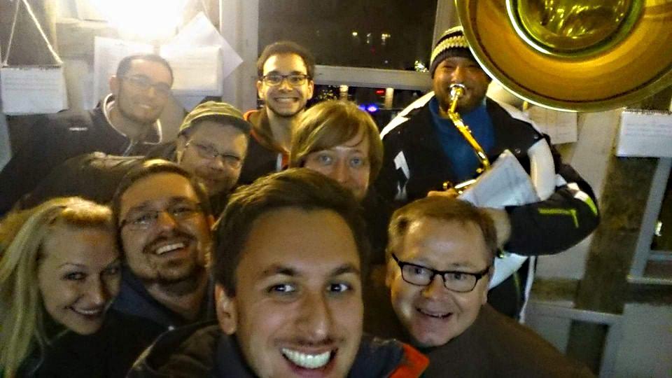 Brass Band BlechKLANG Turmblasen 2017