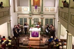 Brass Band BlechKLANG Bläserweihnacht 2017 Blech trifft Orgel Winzerla