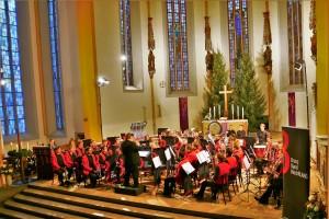 Brass Band BlechKLANG Bläserweihnacht 2017 Jen