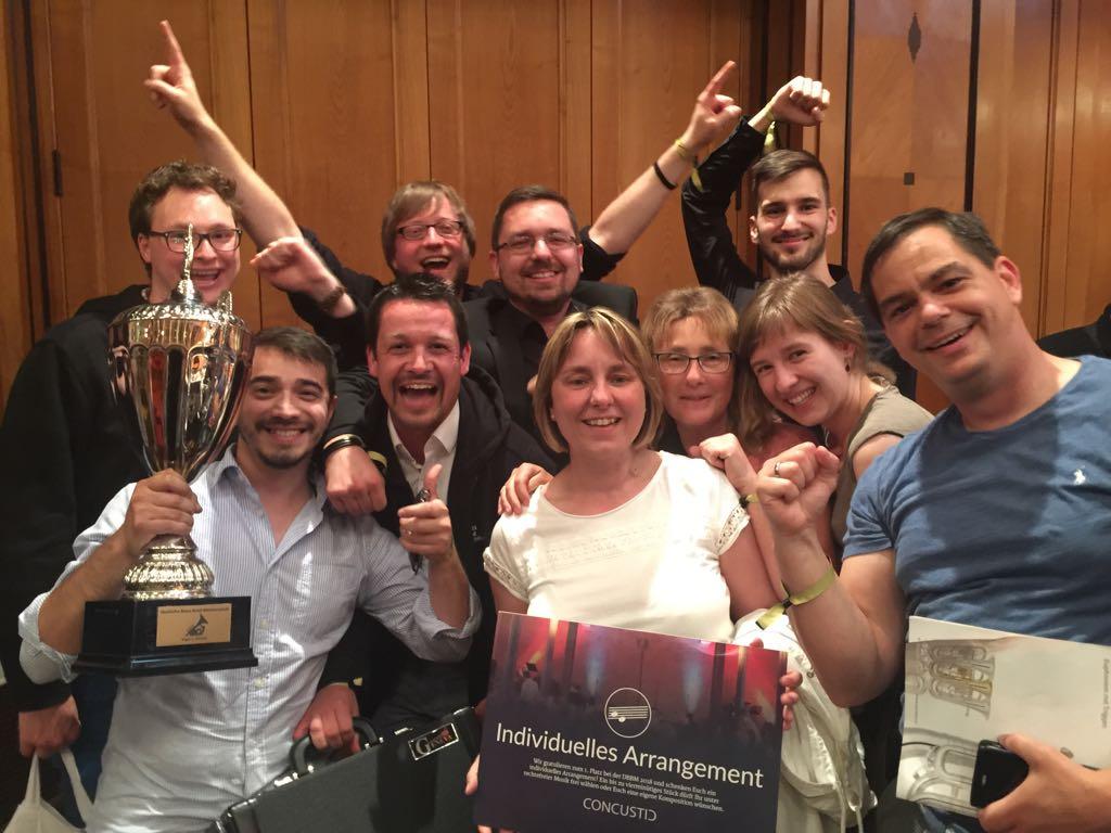 2018 Deutsche Brass Band Meisterschaft Brass Band BlechKLANG Sieg 2. Division
