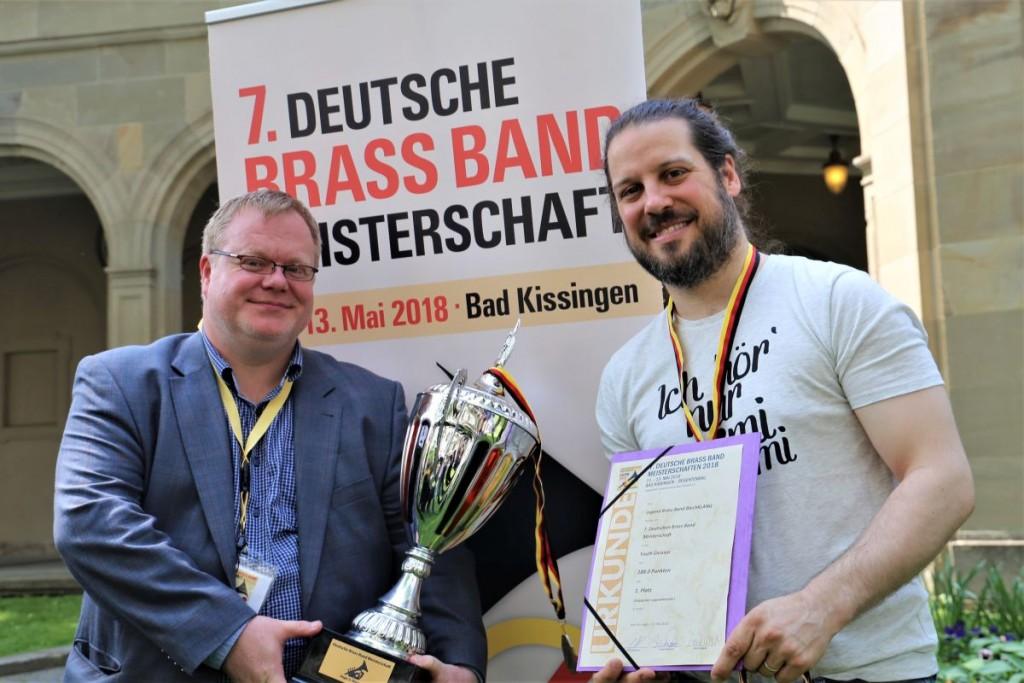 Alexander Richter und Patricio Cosentino Brass Band BlechKLANG