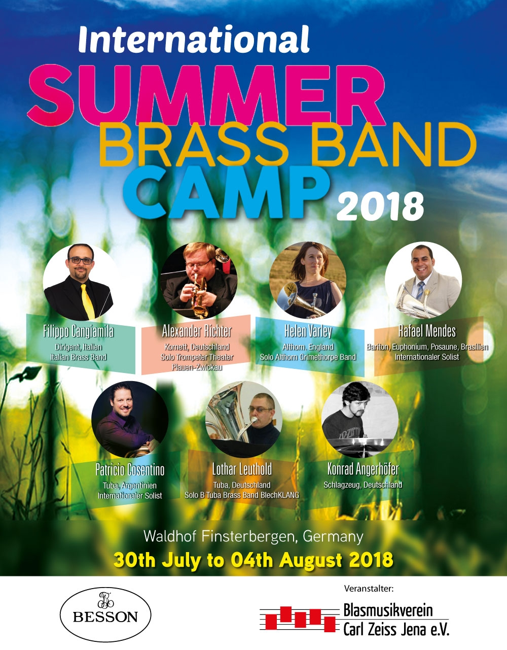International Summer Brass Band Camp 2018