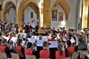 Abschlusskonzert zum 3. Jenaer Blechbläserseminar mit Owen Farr und Les Neish und der Brass Band BlechKLANG (1)