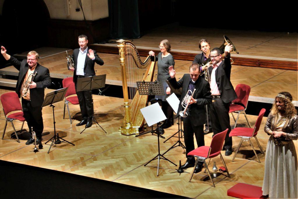 Brass Band BlechKLANG Bläserweihnacht 2018 Kinderbläserweihnacht