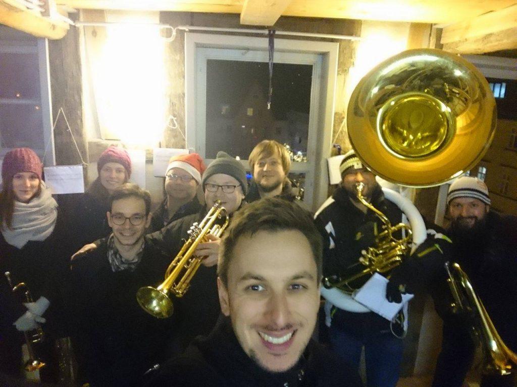 Brass Band BlechKLANG Turmblasen 2018