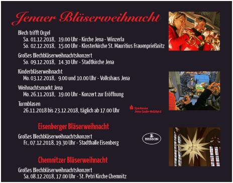 Weihnachtskonzerte 2018 Brass Band BlechKLANG