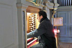 Ludwig Zeisberg bei Blech trifft Orgel