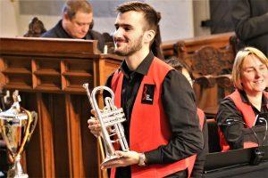 Mark Sirok beim Großen Weihnachtskonzert der Brass Band BlechKLANG (1)