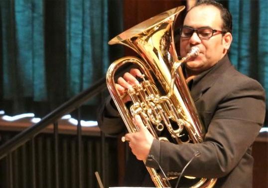 Rafael Mendes beim Galakonzert der Brass Band BlechKLANG Russische Nächte