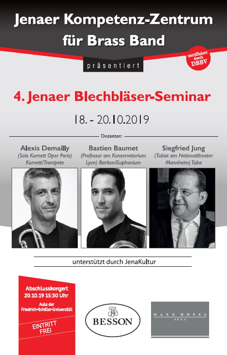 Jenaer Blechbläser-Seminar 2019