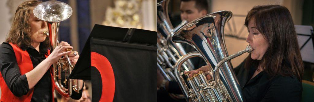 Andrea Hobson Anabel Voigt Brass Band BlechKLANG