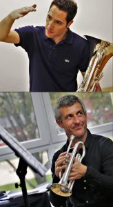 Bastien Baumet und Alexis Demailly beim 4. Jenaer Blechbläser-Seminar