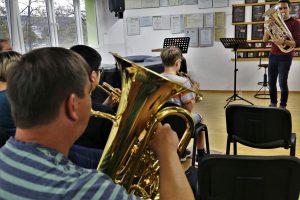 Kammermusik mit Bastien Baumet beim 4. Jenaer Blechbläser-Seminar