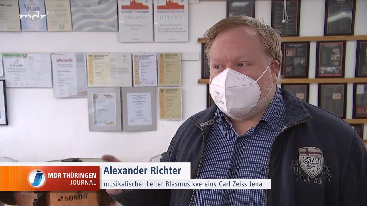 Beitrag vom MDR Thüringen Journal über die kulturellen Kürzungen in Jena