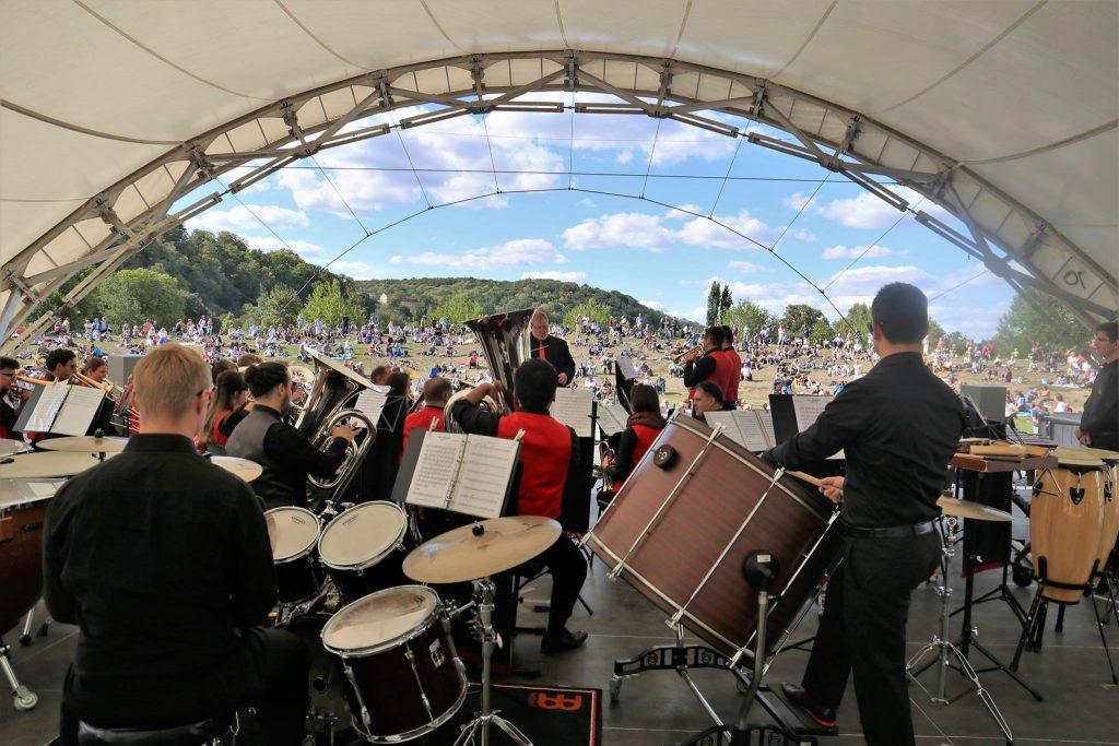 Brass Band BlechKLANG freut sich auf Picknickkonzerte 2021