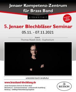 Jenaer Blechbläser Seminar mit Thomas Rüedi